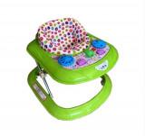 Premergator reglabil in 3 trepte Taspinar™ , jucarie interactiva, plastic rezistenta superioara, Verde
