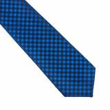 Cravata albastra eleganta Frederick