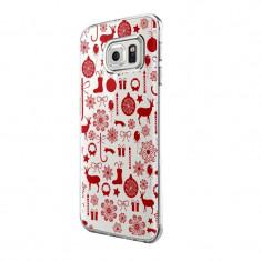 Husa Silicon, Ultra Slim 0.3MM, Christmas Pattern, Samsung Galaxy Xcover 3