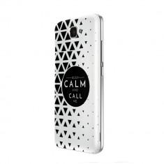 Husa Silicon, Ultra Slim 0.3MM, Keep Calm, Huawei Y5 II