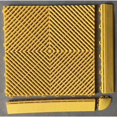 Pardoseala PP modulara Fonner Vents Sunwawe yellow