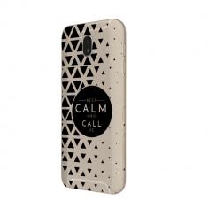 Husa Silicon, Ultra Slim 0.3MM, Keep Calm, Samsung Galaxy S5 - Husa Telefon