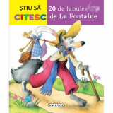 20 De Fabule De La Fontaine - Carte educativa