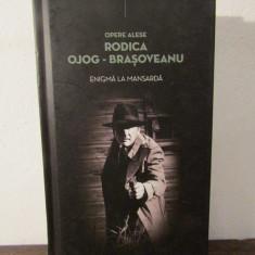 ENIGMA LA MANSARDA - RODICA OJOG-BRASOVEANU(CARTONATA) - Carte politiste