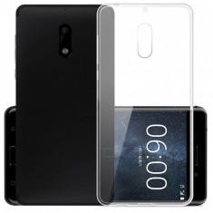 Capac de protectie din TPU transparent 0.8 mm pentru Nokia 6 - Husa Telefon