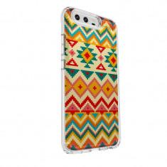Husa Silicon, Ultra Slim 0.3MM, Aztec, Huawei HONOR 9 - Husa Telefon