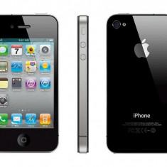 iPhone 4s Apple 8gb Black Original Neverlocked cu Garantie 6 luni, Negru, Neblocat