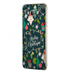Husa Silicon, Ultra Slim 0.3MM, Merry Christmas, Samsung Galaxy J7 2016 - Husa Telefon