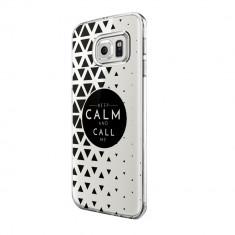 Husa Silicon, Ultra Slim 0.3MM, Keep Calm, Samsung Galaxy S7