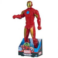 Jucarie Marvel Titan Hero Iron Man 45 cm B1655 Hasbro - Roboti de jucarie