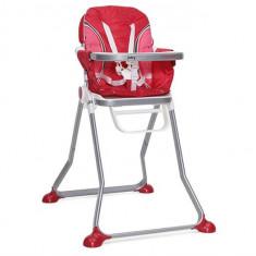 Scaun De Masa Copii Cangaroo Juicy Rosu - Masuta/scaun copii