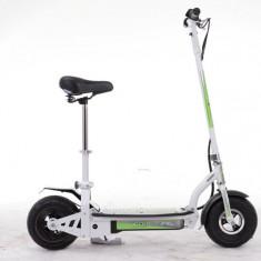 Trotineta electrica copii, adulti pliabila cu scaun 1000W, ideala in trafic