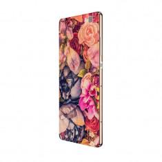 Husa Silicon, Ultra Slim 0.3MM, Floral, Huawei P8 LITE