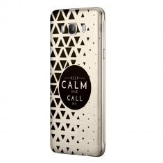 Husa Silicon, Ultra Slim 0.3MM, Keep Calm, Samsung Galaxy A5 2016