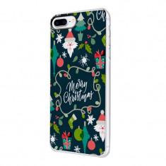 Husa Silicon, Ultra Slim 0.3MM, Merry Christmas, Apple iPhone 7 Plus / 8 Plus