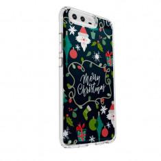 Husa Silicon, Ultra Slim 0.3MM, Merry Christmas, Huawei HONOR 9