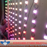 LED Pixeli Pereti Dinamici Lumini Club Predescu Rebel Design