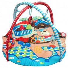 Saltea de joaca pentru copii Pirati - Tarc de joaca Baby Mix, Multicolor
