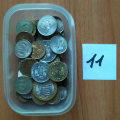 Rusia lot 100 monede 1961-2017 de la 1 copeica pana 10 ruble, Europa, Cupru-Nichel
