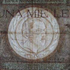 1000 lei 1936 bancnota veche Romania Carol al 2-lea, mai rara - Bancnota romaneasca