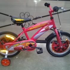 "Lightning McQueen Disney Cars / bicicleta copii 16"" (6-8 ani), 1"