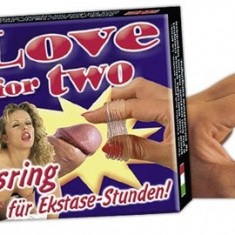 Inel Penis LOVE FOR TWO - Jucarii erotice