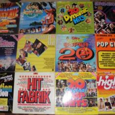 44 vinyl/vinil/viniluri selectii,compilatii Depeche Mode,Sade,BZN,Queen,Europe