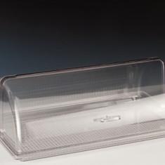Tavă policarbonat dreptunghiulară cu capac rolltop 55,5x35,5x19cm MN0136222 Raki