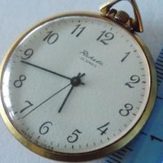 Ceas Placat Aur Raketa Made in URSS - Ceas de buzunar vechi