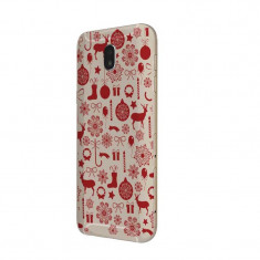 Husa Silicon, Ultra Slim 0.3MM, Christmas Pattern, Samsung Galaxy J7 2017 - Husa Telefon