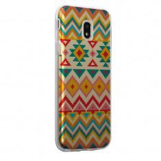 Husa Silicon, Ultra Slim 0.3MM, Aztec, Samsung Galaxy S5 - Husa Telefon