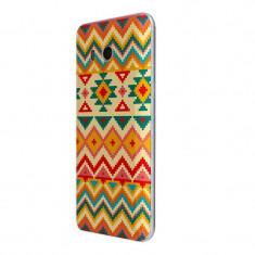 Husa Silicon, Ultra Slim 0.3MM, Aztec, HTC U11