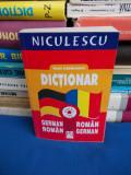 IOAN LAZARESCU - DICTIONAR GERMAN-ROMAN / ROMAN-GERMAN ( 50.000 CUVINTE ) - 2006
