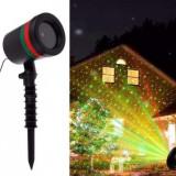 Proiector Laser pentru exterior Laser Light + JOC DE LUMINI