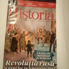 Revista Historia nr 182 / martie 2017, Revolutia rusa a avut loc in februarie - Revista culturale