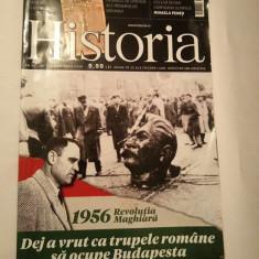 Revista Historia nr 179 / decembrie 2016, 1956 Revolutia Maghiara - Revista culturale
