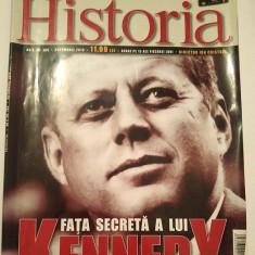 Revista Historia nr. 106 octombrie 2010, Fata secreta a lui Kennedy - Revista culturale