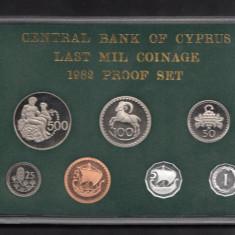 Set Monetarie Cipru 1982, Europa