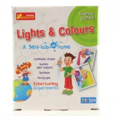 Joc Creativ Lumini si Culori