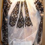 Ie traditionala romaneasca 5 - Costum populare, Marime: 48, Culoare: Alb
