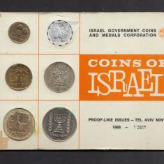 Set Monetarie Israel 1966 1 5 10 25, Asia