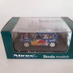 Macheta Skoda Fabia WRC Evo II No. 12 Abrex 1/43