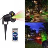 Cumpara ieftin Proiector Laser exterior METALIC TELECOMANDA Jocuri de lumini diverse forme