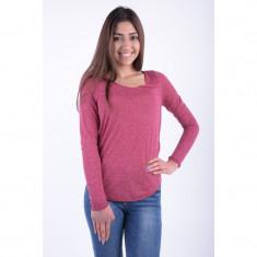 Bluza Vero Moda Lua Rosu Magent