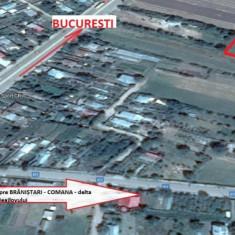Teren intravilan 2.600mp în Călugăreni (jud. GR), la 23km de București
