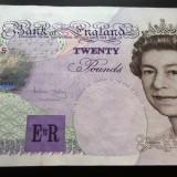 Bancnota 20 Pounds *Lira Sterlina - ANGLIA (Bailey), anul 1993 *cod 406 a.UNC! - bancnota europa
