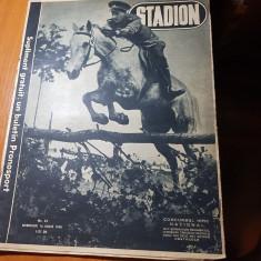 Revista stadion 16 iunie 1948-concursul hipic national