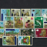 Tuvalu MNH 1976 - Uzuale supratipar pe Gilbert & Ellice - rar, Nestampilat