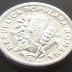 Moneda 2 Lei - ROMANIA, anul 1951 *cod 2728 A.UNC + - Moneda Romania, Aluminiu