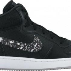 Pantofi sport Nike Court Borough Mid Print - 845102-002 - Gheata dama